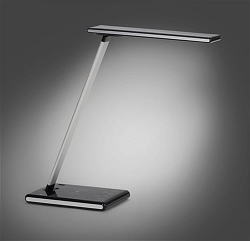 LED desk lamp phone charger with adjustable illumination