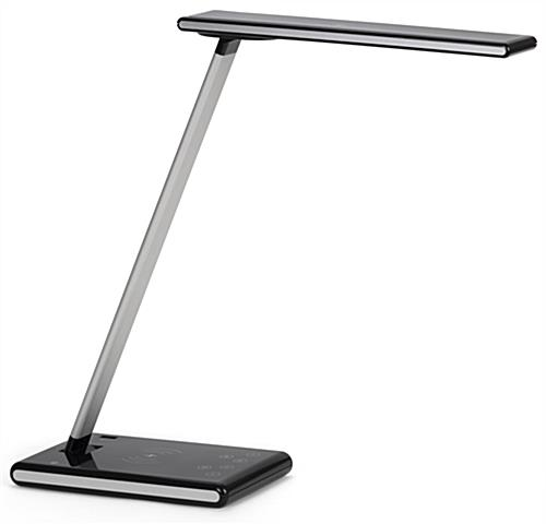 LED desk lamp phone charger with wireless base