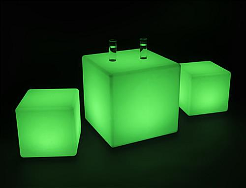 Illuminated Lounge Table Set