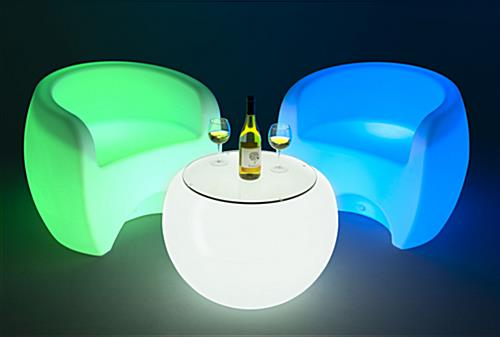 LED single sofa chair can illuminate for 10-12 hours straight