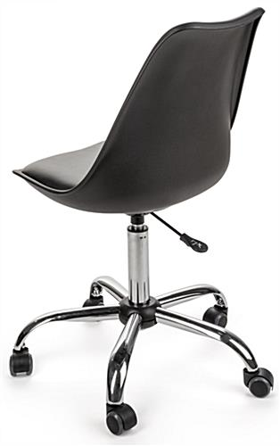 Molded Wheeled Office Chair Height Adjustable