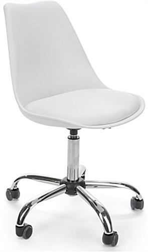 Modern Molded Wheelie Chair with Iconic Design