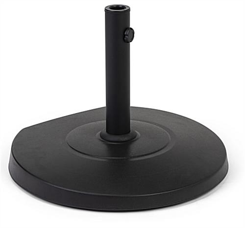 Weighted patio umbrella base