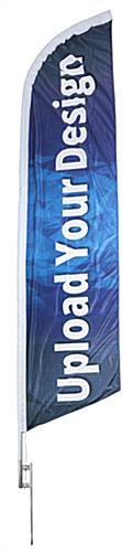 Outdoor 14-ft Custom Advertising Feather Flag