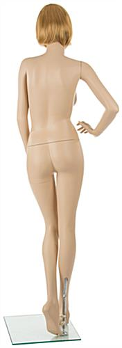 Realistic Female Mannequin with Blonde Hair & Detachable Body Parts