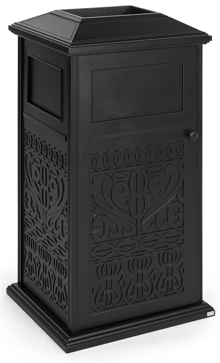 Decorative Outdoor Trash Can Four