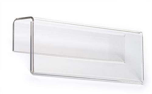 acrylic cubicle name plate holder
