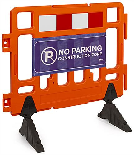 Heavy duty barrier Sign