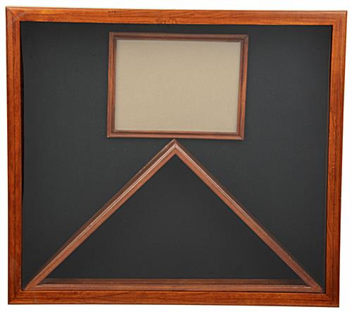 Military Shadow Box - Light Oak