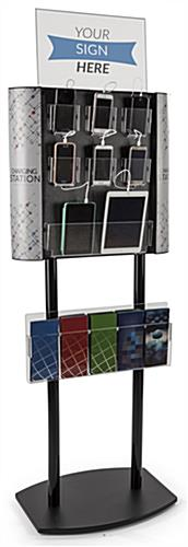 Floor Standing Charging Kiosk Holds Up to 8 Devices