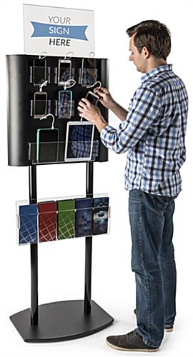 Multiple Cell Phone Charging Station Holds up to 8 Devices