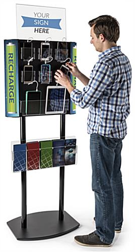 Commercial Cell Phone Charging Station Holds Up to 8 Devices