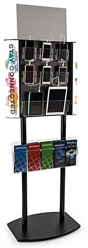 Floorstanding public iphone charger stand