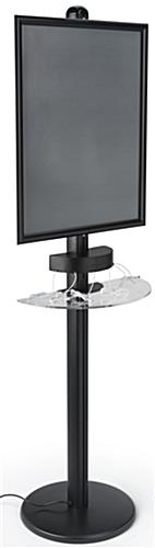Cell Phone Charger Kiosk, Black Finish