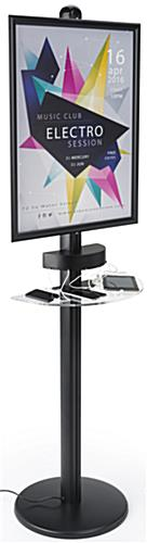 Cell Phone Charger Kiosk for iPhones