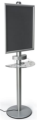Aluminum Mobile Device Charging Kiosk