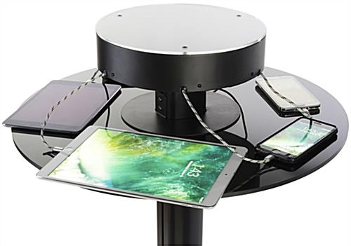 Bar Height Charging Table for Mobile Devices