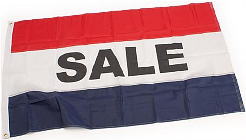 "Sale Flag: Is A 5'2""w x 3""h Nylon Banner"