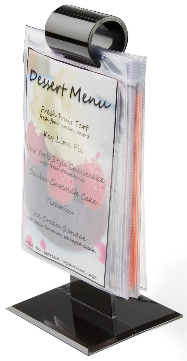 Restaurant Menu Holders 10 Vinyl Sleeves Included 4 Quot X 6 Quot