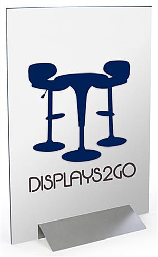 Poster Board Display is Adjustable