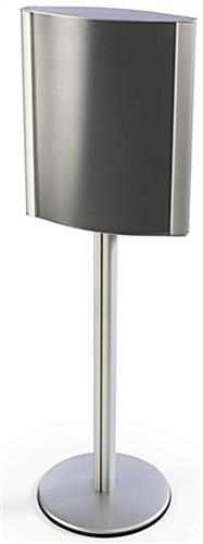 Standing Poster Holder with Curved Design
