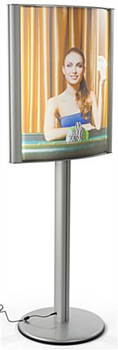 Snap-Open 22 x 28 Curved Lightbox Stand