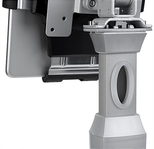 360 Degree Tablet Stand with Integrated Cable Management