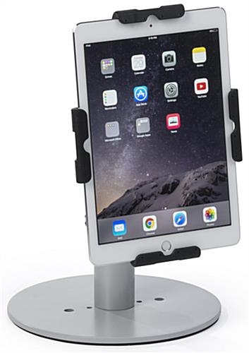 Universal Tablet Cradle with Silver Finish