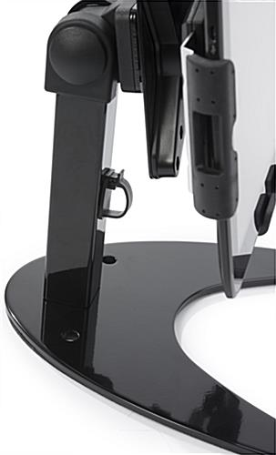 Sturdy iPad Stand with Cable Management