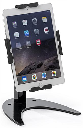 Sturdy iPad Stand with Horseshoe Shaped Base