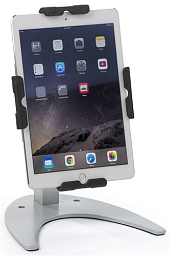 Silver Aluminum Tablet Stand