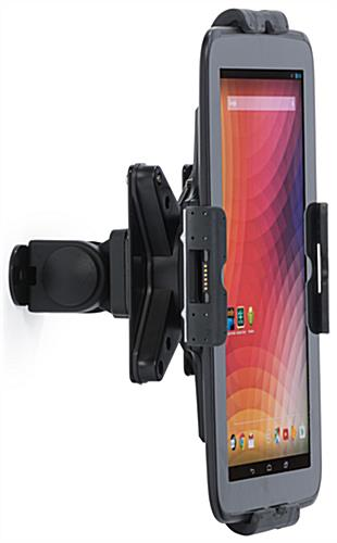 Tablet Wall Mount Arm, Black Finish