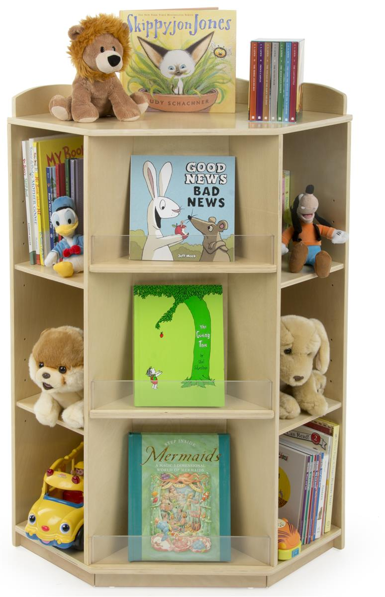 Kid S Book Shelf Literature Display For Libraries And