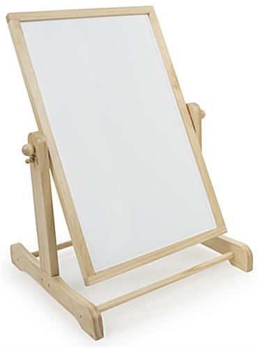 Chalkboard and Whiteboard Easel
