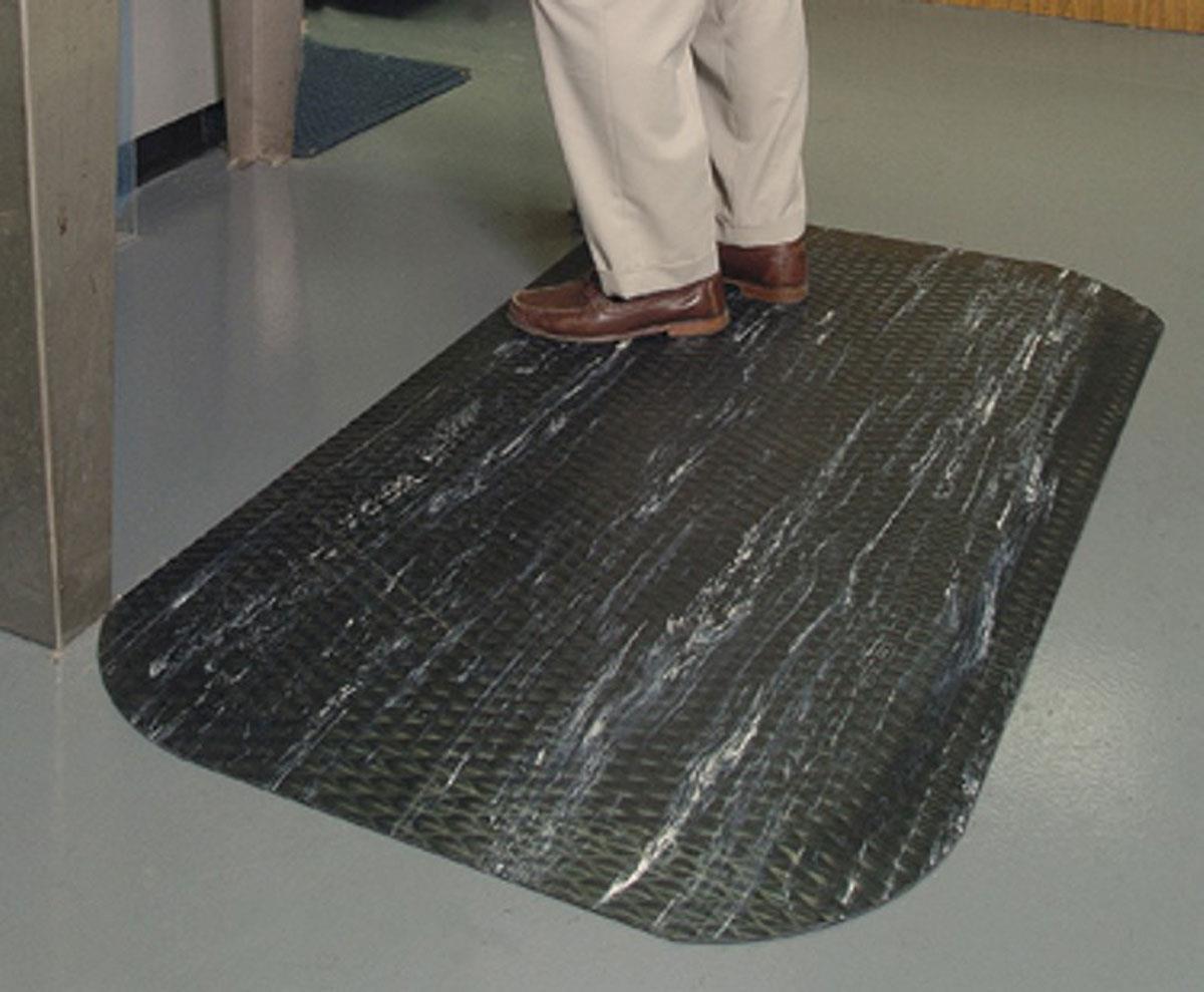3 X 5 Anti Fatigue Rubber Floor Mat Midnight Swirl