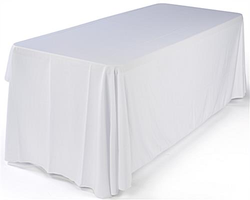 Folding Tables With White 3 Sided Cover 6 Ft In Length