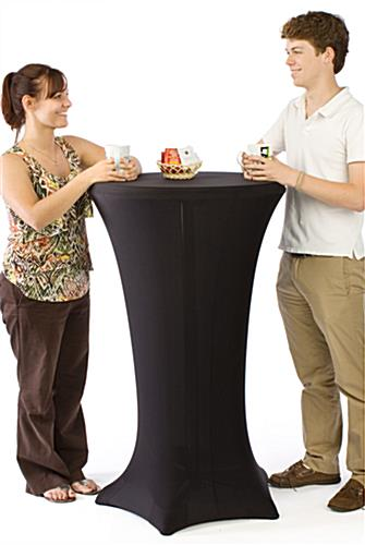 Cocktail Tables with Spandex Covers