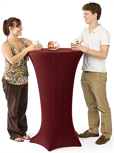 High-Top Cocktail Tables for Trade Shows & Bars