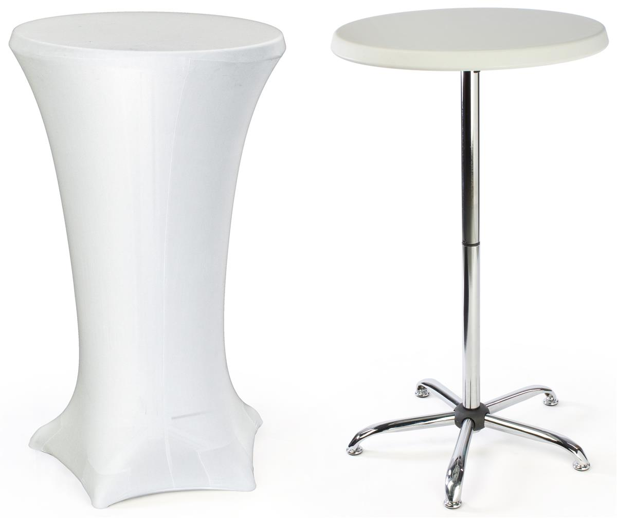 Cocktail Table 27 X 47 Table W White Fitted Stretch