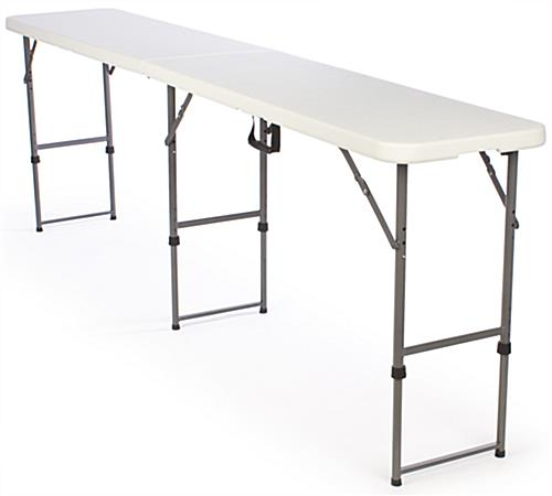 An Adjustable Height Folding Table Has The Versatility Necessary To Tackle  Just About Any . Folding Tables In All Shapes And Sizes Are ...