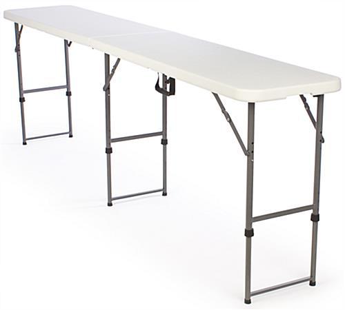 Elegant Adjustable Height Folding Tables ...