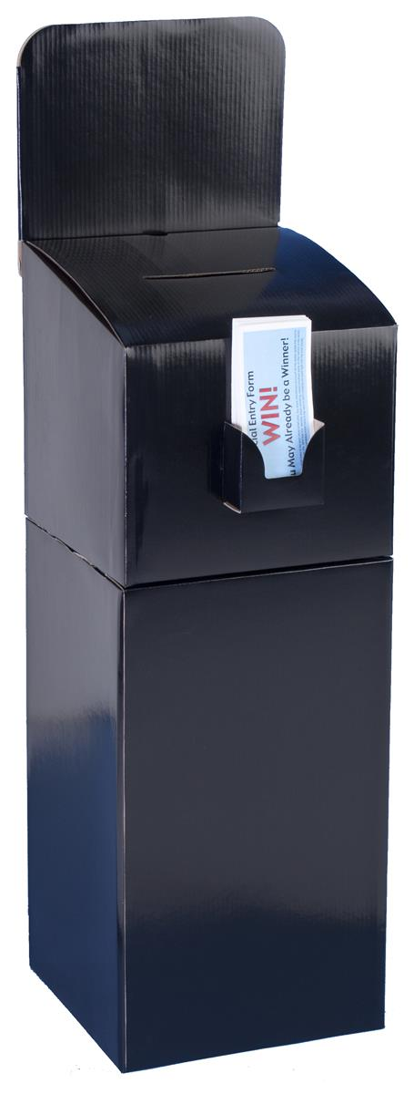 Floor Standing Corrugated Ballot Box