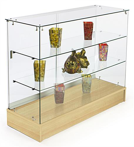 glass counter