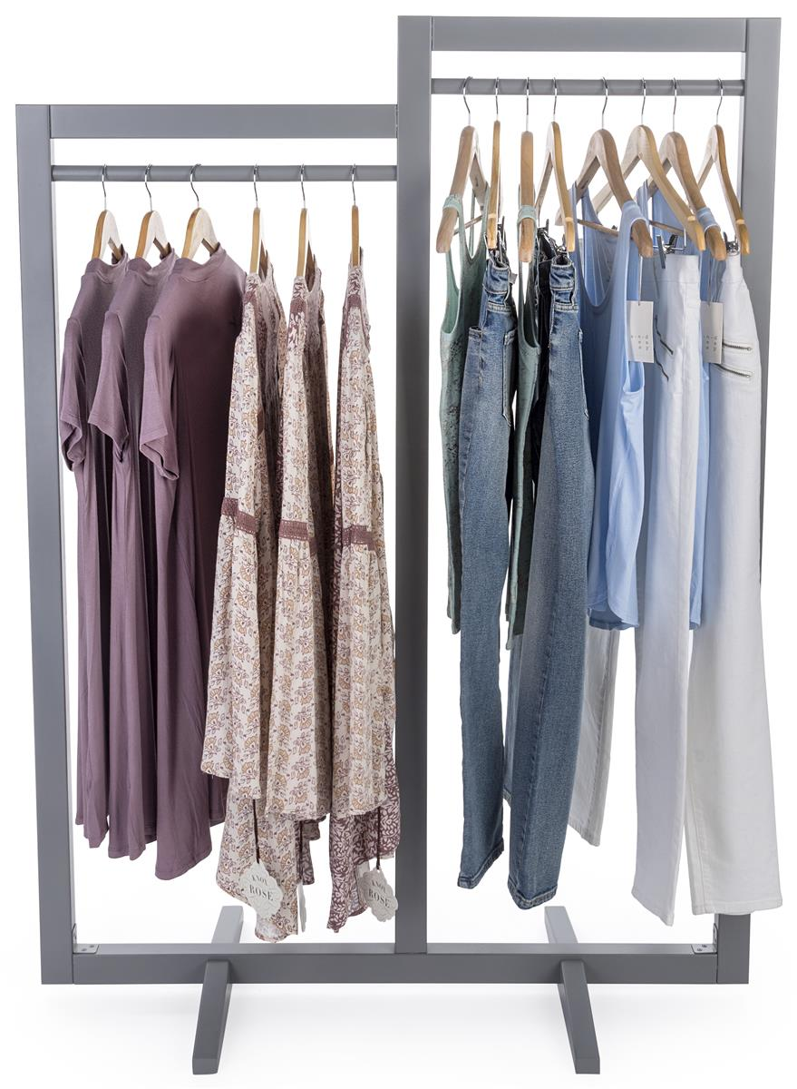Box Frame Clothing Hanger Stands