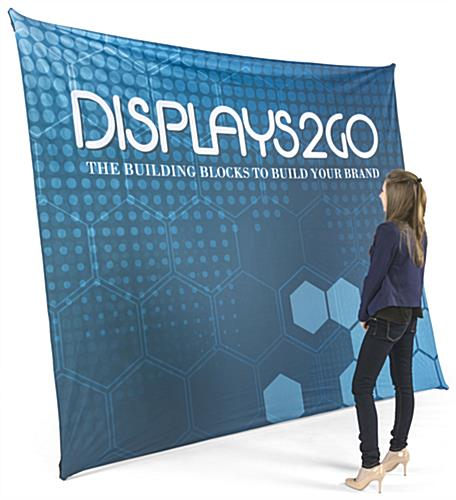 Large Format Trade Show Graphics | Single Sided Printing