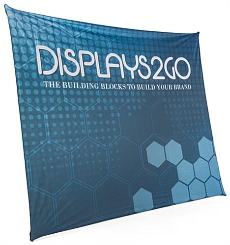 Slim Depth Large Format Trade Show Graphics