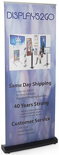 Vertical Retractable Banner Stand's Base
