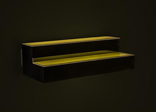 16-color lighted bar shelf bottle glorifier
