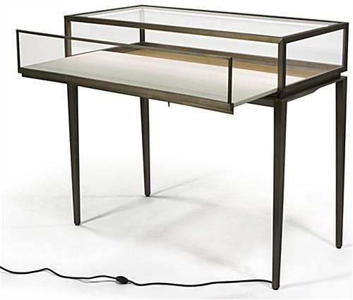 Lockable Modern Jewelry Display Table
