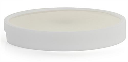 LED serving tray with 15.75 inch diameter